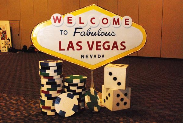 Casino Las Vegas Decore Rental