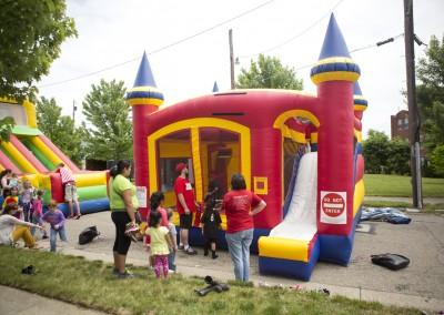 Inflatable Castle Bounce House Slide Combo