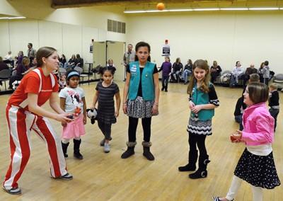 Juggling circus workshop