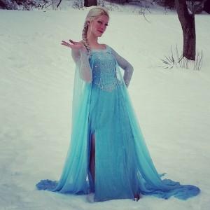 Elsa Frozen Princess Theme Party