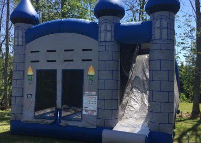Medieval/Prince Bounce House Slide Combo