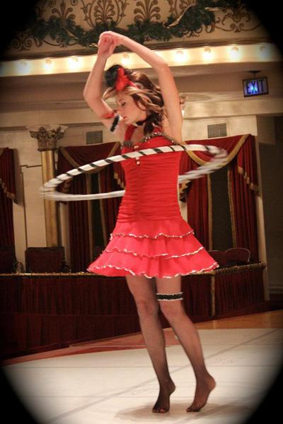 Strolling Hula Hoop Performer