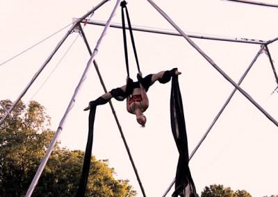Aerial Silks Performers