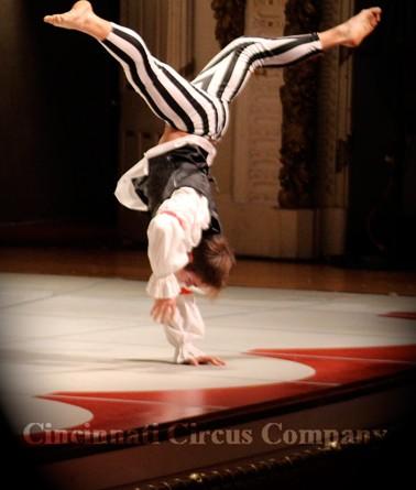 Circus Hand Balancing Performer