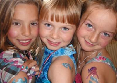 Craft Glitter Tattoos
