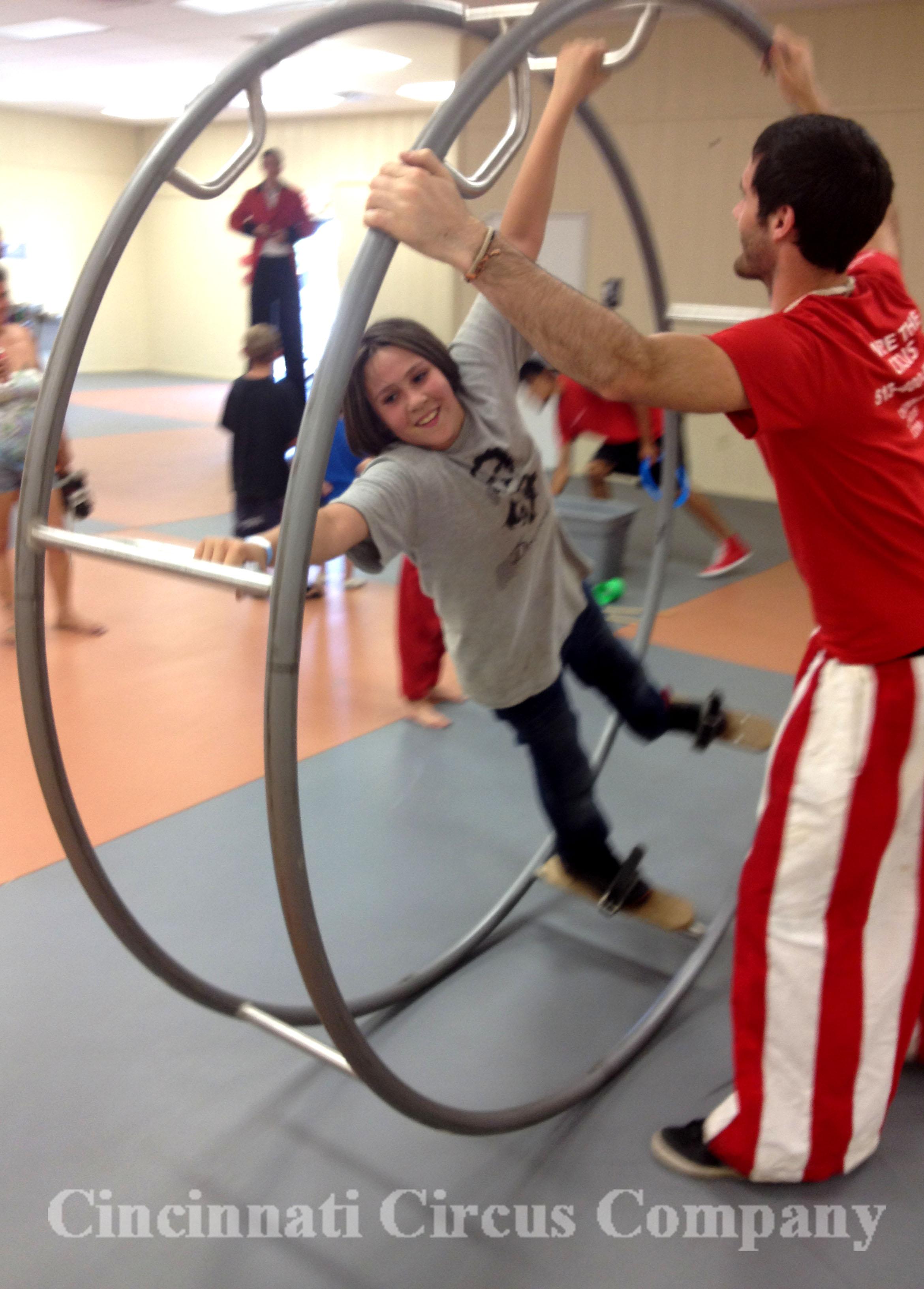 Circus Camp_German Wheel