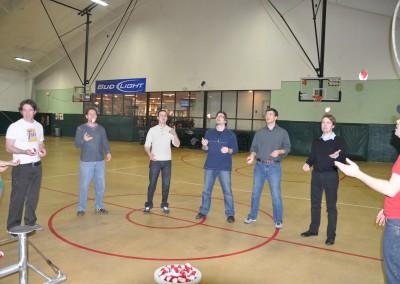 Corporate Circus Team Building Workshop 033