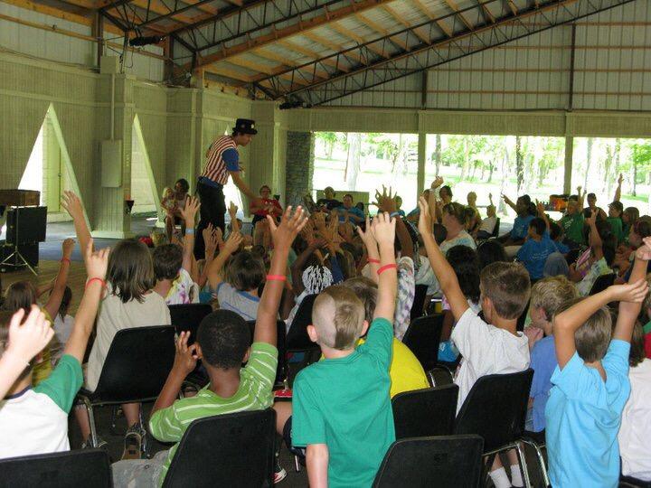Magic Show Volunteers Chris