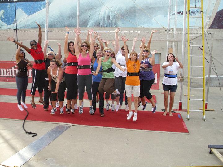 Cincinnati Circus Trapeze School Class