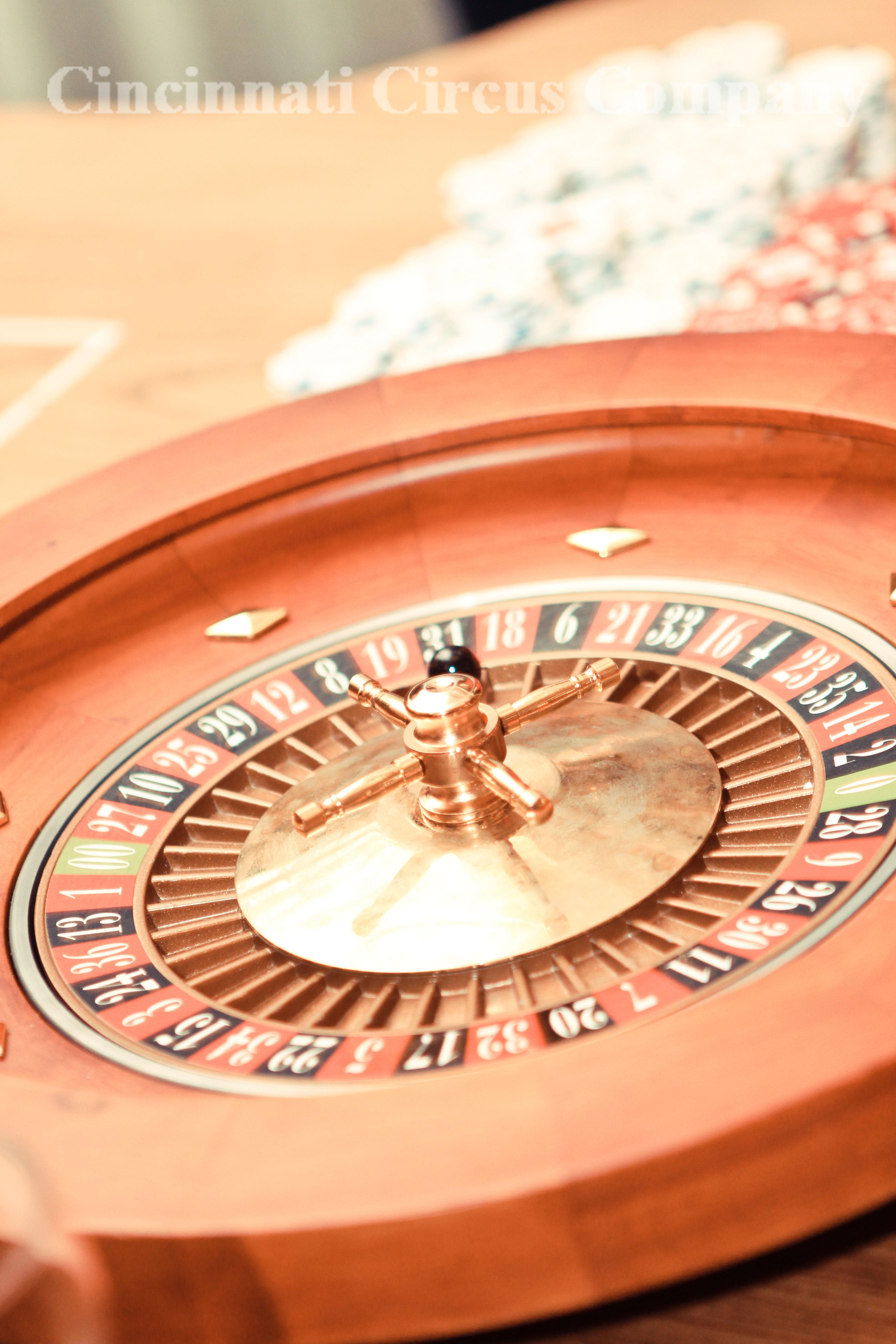 Roulette_Casino Game_Wheel