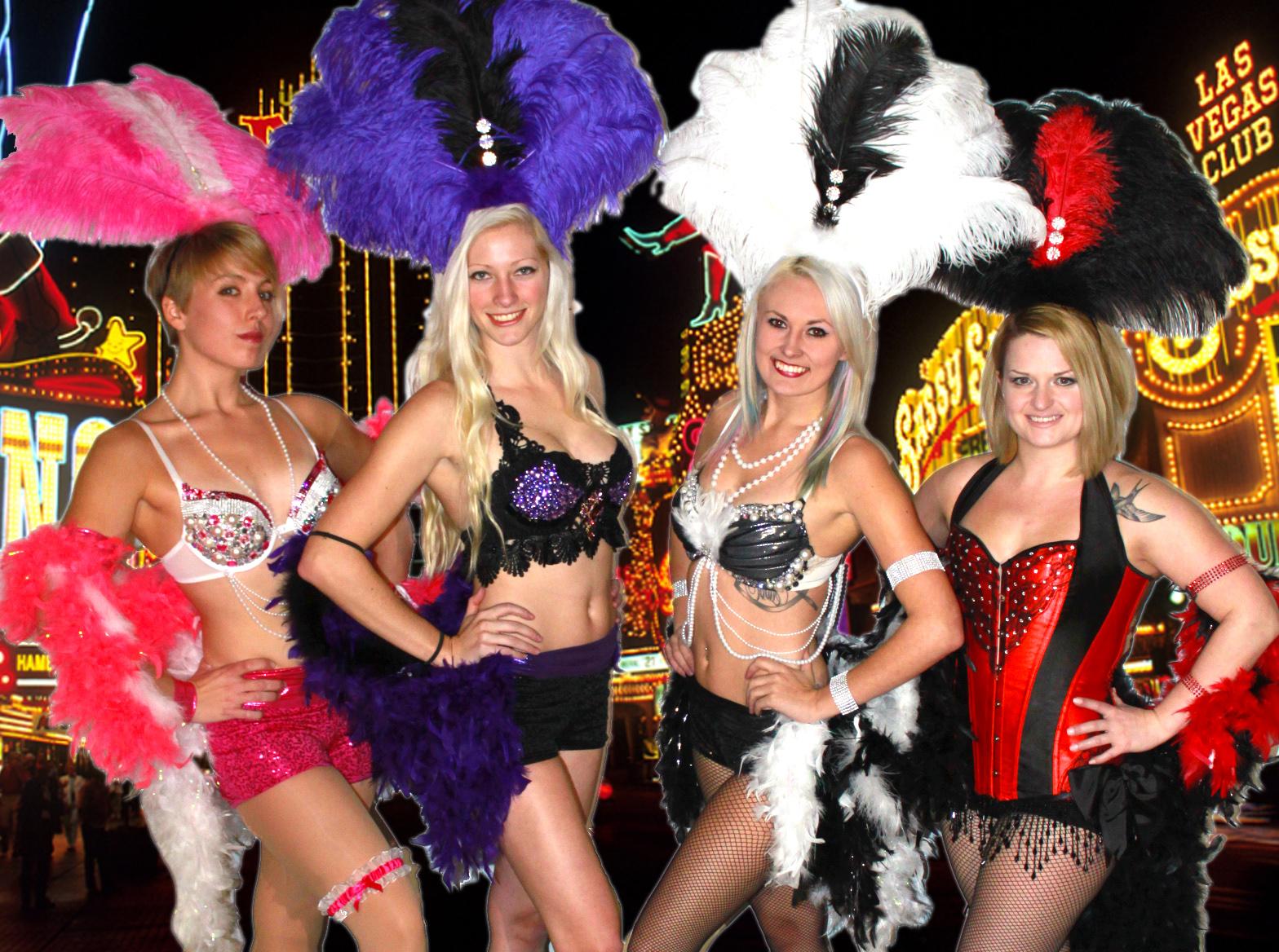 Ground Showgirls with Background 04