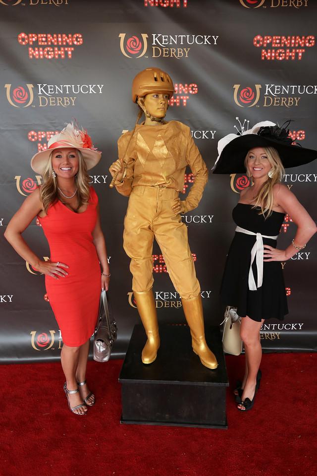 Jockey Living Statue