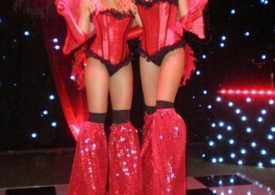 Stilt Showgirls