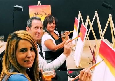 Art & Wine Class