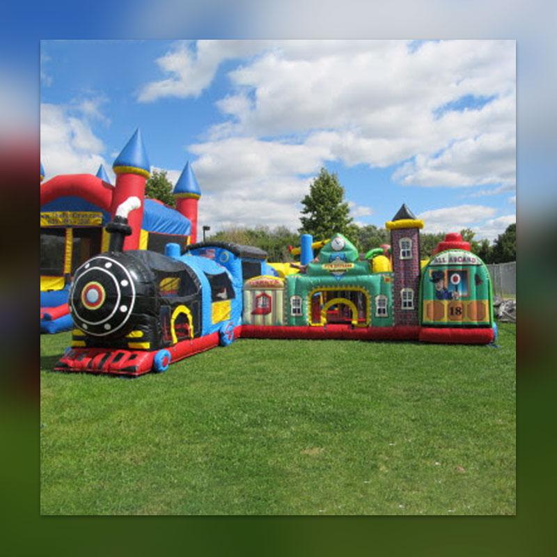 Inflatable Kraken Slide: Cincinnati Inflatable Bounce Houses, Slides, And Games